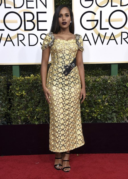 Kerry Washington Dolce Gabanna Globos De Oro