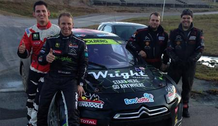 Petter Solberg ya tiene su propio equipo de pilotos noruegos
