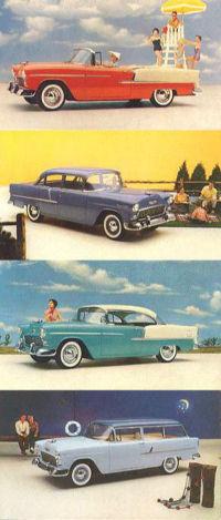 Modelos Chevrolet (1955)