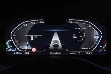 BMW iX3 Prueba cuadro relojes