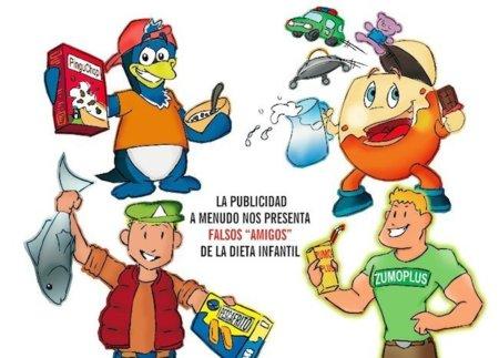 Falsos amigos de la dieta de los niños