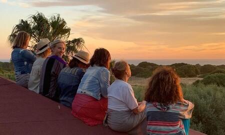 Sara Carbonero, Raquel Perera, Rosario Flores y Mariola Orellana se van juntas de farra por el sur de España