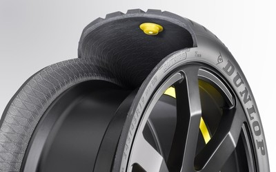 Goodyear Dunlop presenta un neumático 'inteligente'