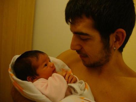 La foto de tu bebé: Ariadna y su papá