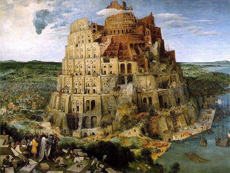 Brueghel el Viejo Torre de Babel