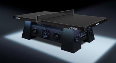 Aquí tenéis la mesa de ping pong perfecta para animar cualquier escenario