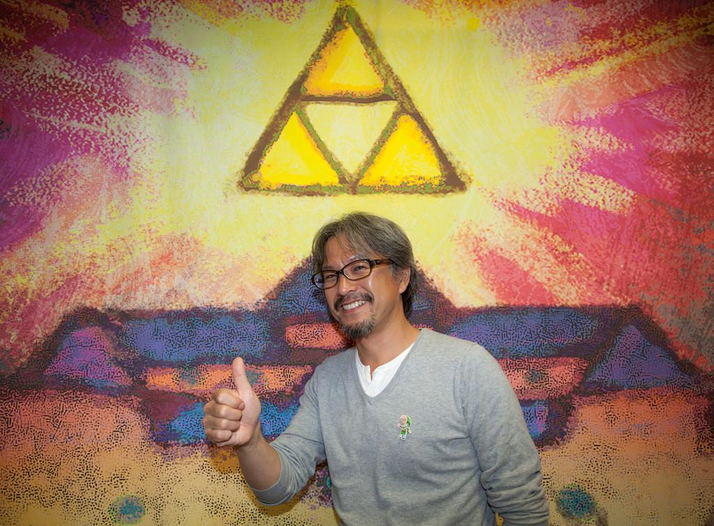 Eiji Aonuma, productor de 'Zelda':