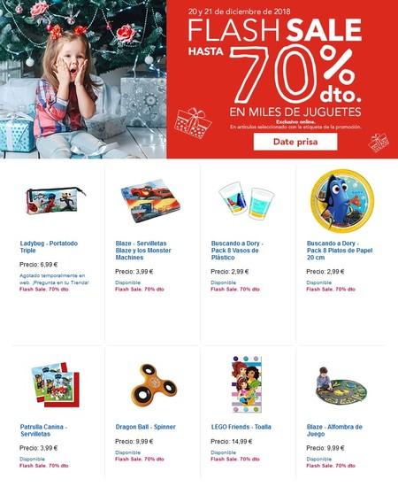 Descuentos de hasta el 70% en las ofertas flash de Toys 'r us