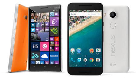 Lumia 930 vs Nexus 5X