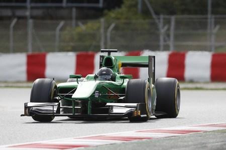 Sergio Canamasas GP2 Test BCN