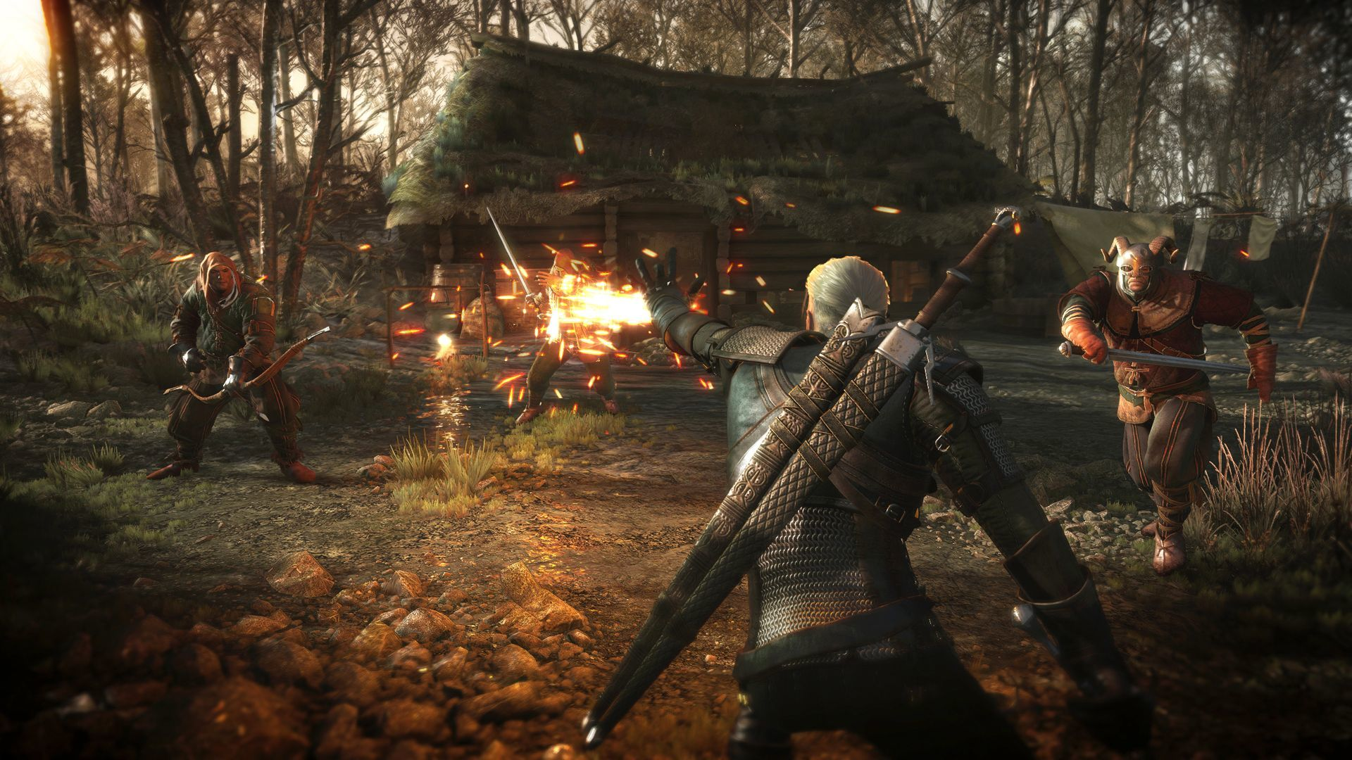 Seis imágenes The Witcher 3