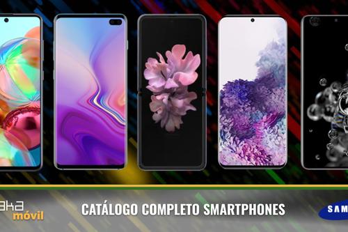 Samsung Galaxy S20, S20+, S20 Ultra y Z Flip, así encajan dentro del catálogo completo de móviles Samsung en 2020