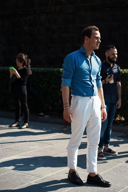 pantalon blanco estilo