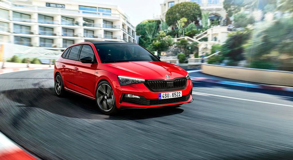 El Škoda Scala estrena acabado deportivo con la versión Monte Carlo, que llegará al mercado a finales de 2019