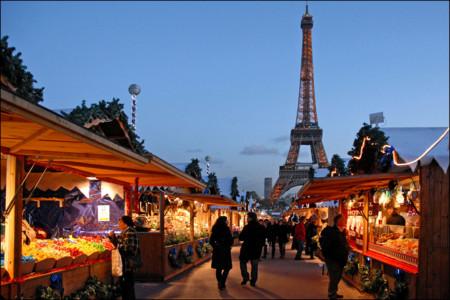 Planes en París por Navidad