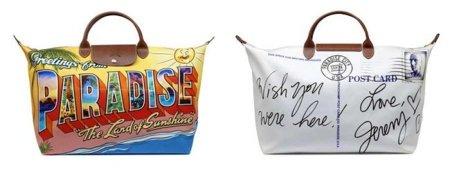 Jeremy Scott da color y diseño a un bolso de Longchamp
