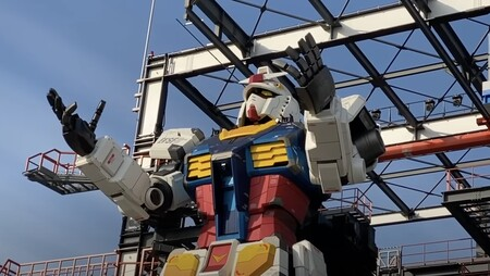 El Gundam japonés a tamaño real está listo: ya es capaz de moverse y se podrá visitar desde el próximo 19 de diciembre