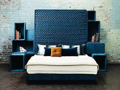 Curvas, contrastes y mucho estilo londinense: requisitos fundamentales de Savoir Beds