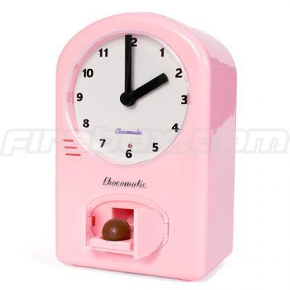 Chococlock te premia con un dulce cada hora