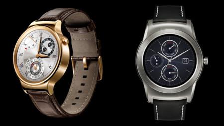 Huawei Watch y LG Watch Urbane