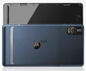 Cámara fotos Motorola Milestone 2
