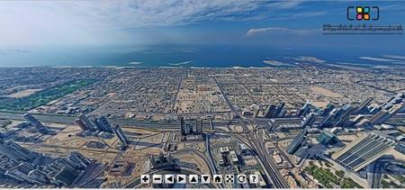 Impresionante panorámica desde el Burj Khalifa