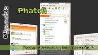 Procesa masivamente tus imágenes con Phatch