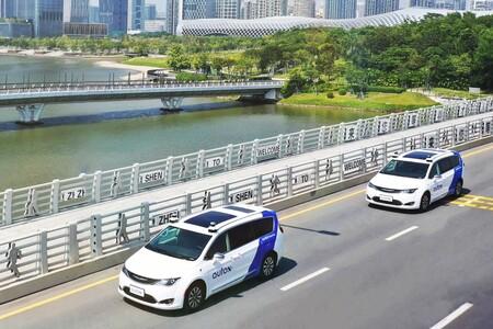 Los robotaxis de AutoX ya circulan en las calles de Shenzhen, China: así es el servicio de taxis autónomos financiado por Alibaba
