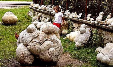 Rumania: las piedras que crecen