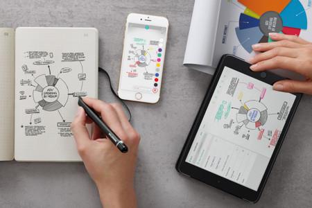Smart Writing Set, la apuesta de Moleskine para subirse al carro de las nuevas tecnologías tiene forma de lápiz
