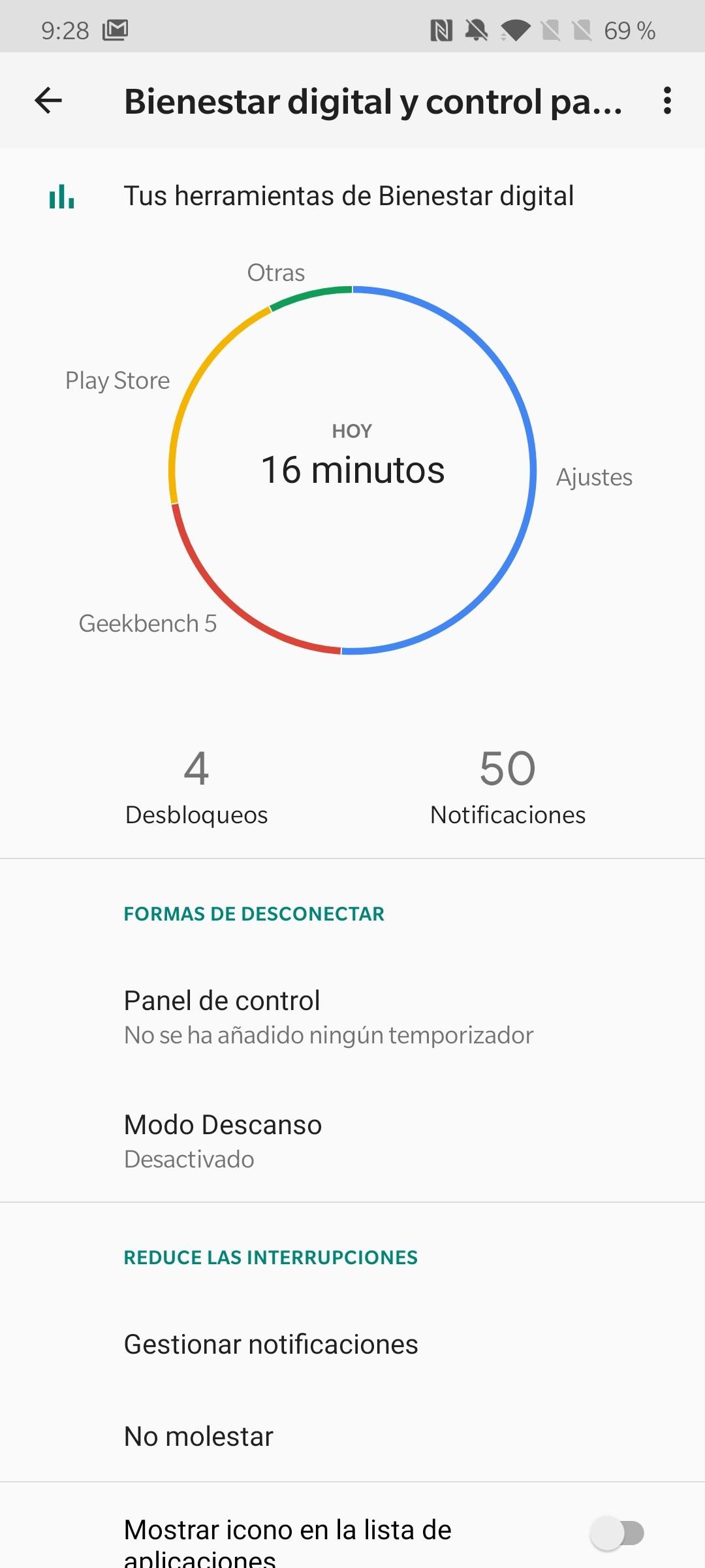 Foto de Android 10 en el OnePlus 7T (14/15)