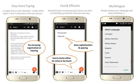speechnotes android