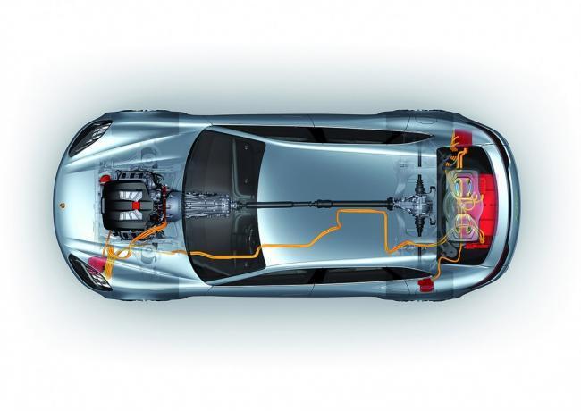 Porsche Sport Turismo e-hybrid
