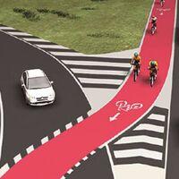 """""""¿Debe ceder el paso al ciclista?"""". La pregunta de la DGT a esta imagen y su preocupación por los usuarios vulnerables"""