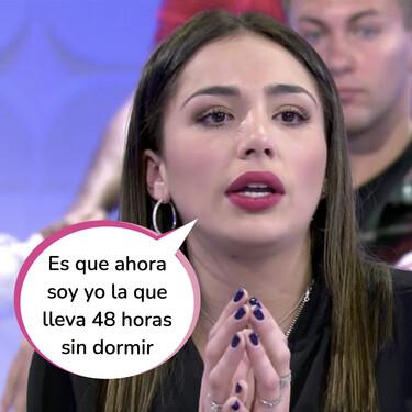 """Sandra Pica aclara entre lágrimas el motivo de su obsesión por la complicidad de Tom y Melyssa: """"Sufro acoso en las redes, me desean la muerte"""""""