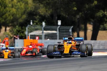 Sainz Norris Vettel Francia F1 2019