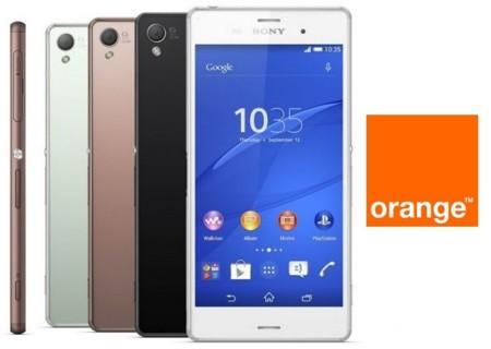 Precios Sony Xperia Z3 con Orange