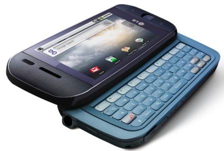 LG GW620, otro teléfono con pantalla táctil y Android