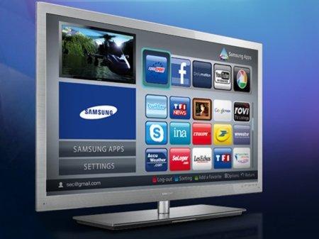 Las aplicaciones en los televisores Samsung están en alza