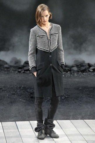 Chanel Otoño-Invierno 2011/2012 abrigo
