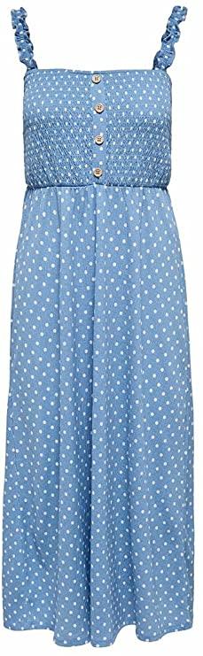 Only Onlpella S/L Dress CS Jrs Vestido para Mujer