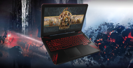 Asus TUF Gaming a precio de Black Friday: i7-8750H, 8GB RAM, SSD 256GB y GTX1060 a 799 euros en Amazon