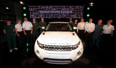 Hoy ha comenzado la producción del Range Rover Evoque