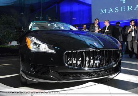 Geeks del motor: El nuevo Maserati Quattroporte se presenta en México