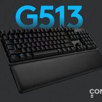 El teclado gaming Logitech G513 Lightsync cuesta mucho menos esta semana en Amazon: llévatelo por 109,99 euros