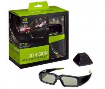 tecnología 3D Nvidia Vision