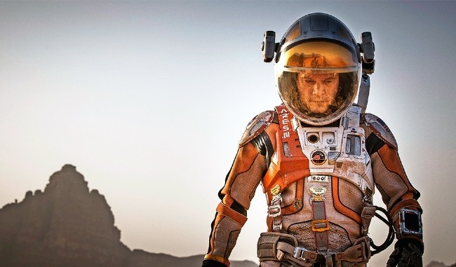 Matt Damon en The Martian