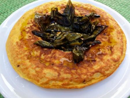 Corona Tortilla Patatas Y Pimientos Olor A Hierbabuena 3