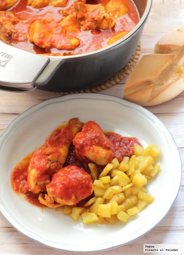 La receta de pollo con tomate y cerveza de mi abuela