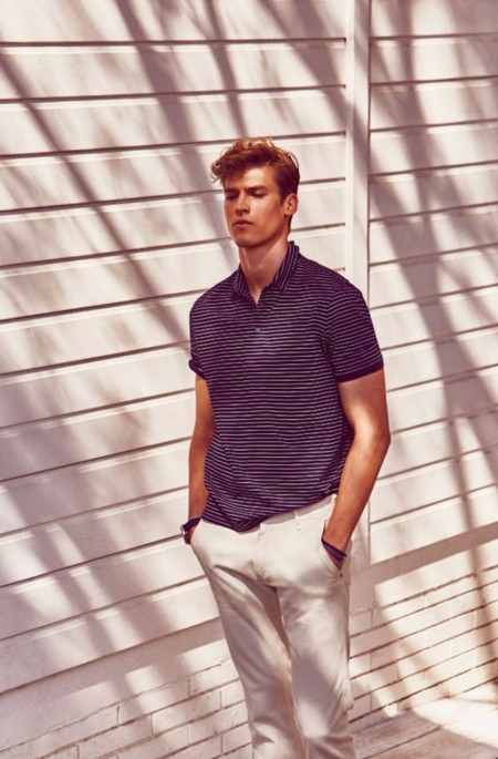 Joel Meacock Massimo Dutti June 2015 Mens Look Book 002